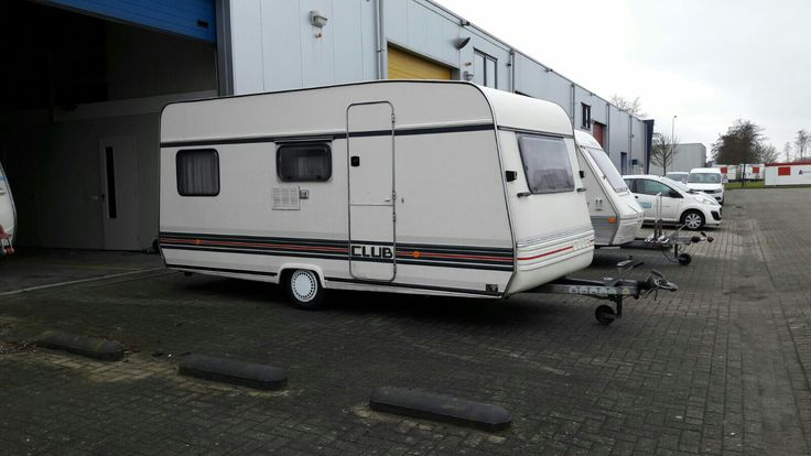 the day we bought our caravan, the Bürstner Club 440 (1988)
