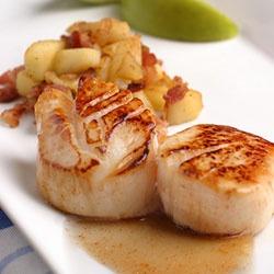 Maple Cayenne Glazed Scallops | Recipes 2 | Pinterest