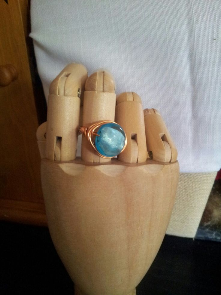 Here is a ring that is an example of my new work with copper. Off to the Etsy shop it goes :)