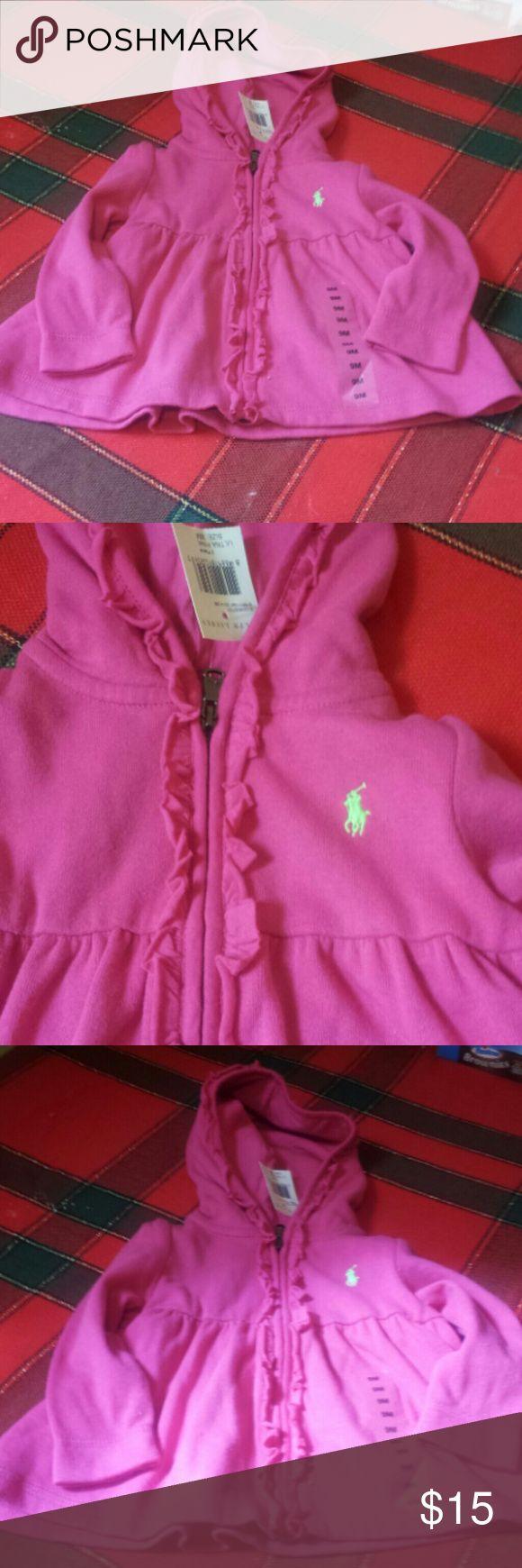 NWT Ralph Lauren hoodie Great zip up sweatshirt Ralph Lauren Shirts & Tops Sweatshirts & Hoodies