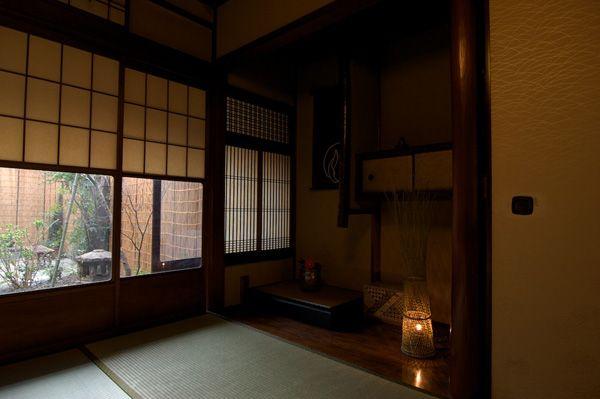 京都の町家ゲストハウス 錺屋 : お部屋の紹介 > トリプルルーム