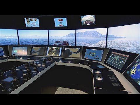 K-SIM® Navigation ship's bridge simulator - YouTube