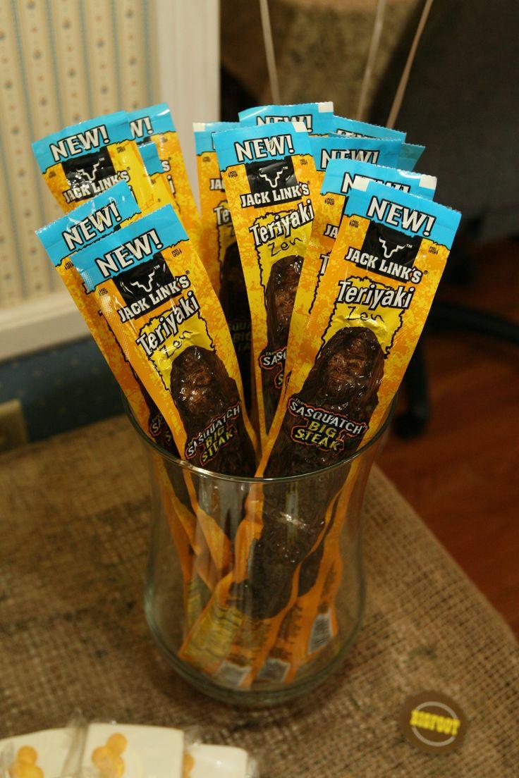 Sasquatch Sticks party favors