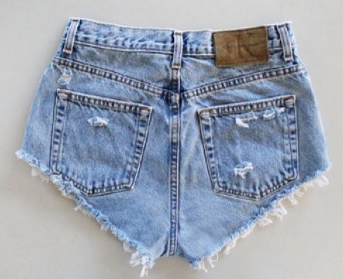 Calvin Klein denim shortpants