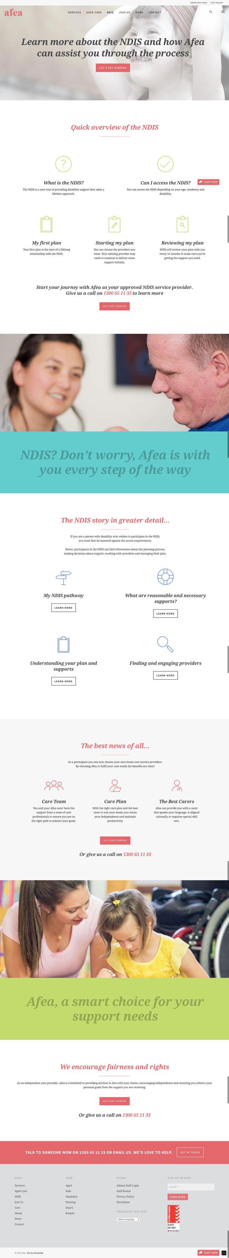 New responsive responsive website by KORE (http://kore.digital/). Disability page. #responsivedesign #webdesign #wordpress
