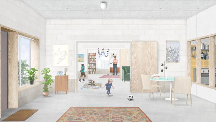 British artist Grayson Perry is working with London-based architects Apparata on an affordable housing scheme with integrated studios for artists in London