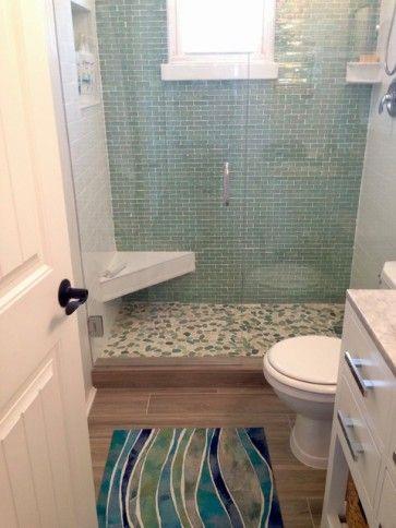 1×3 Inch Green Iridescent Glass Subway Tile