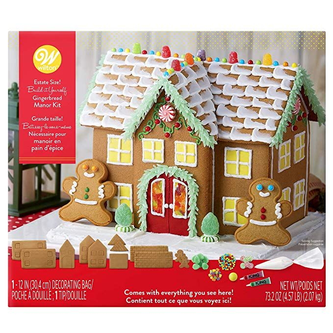 Wilton Build it Yourself Grand Gingerbread