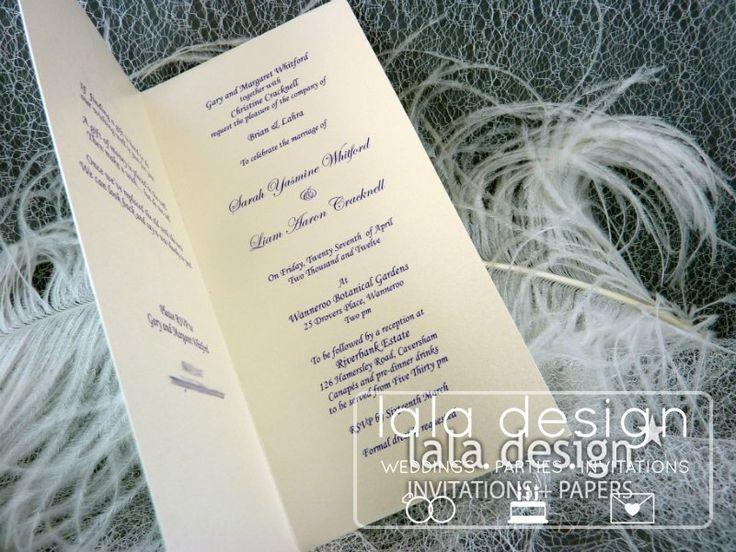 Blue chandalier graphic wedding invitation