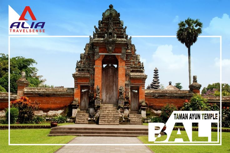 Taman Ayun Temple is one of a beautiful temple in Bali #vacation #leisure #Flyer #Poster #bali #indonesia