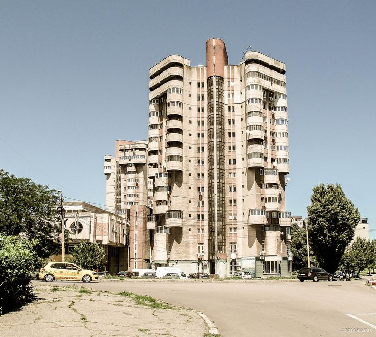 b-a-c-u: Housing complex, Traian Street, Constanta, Romania