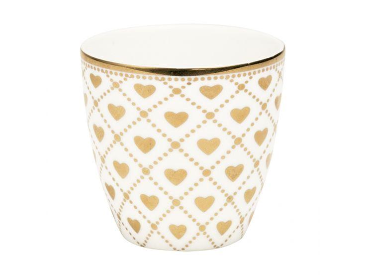Mini Latte Cup Haven Gold Green Gate
