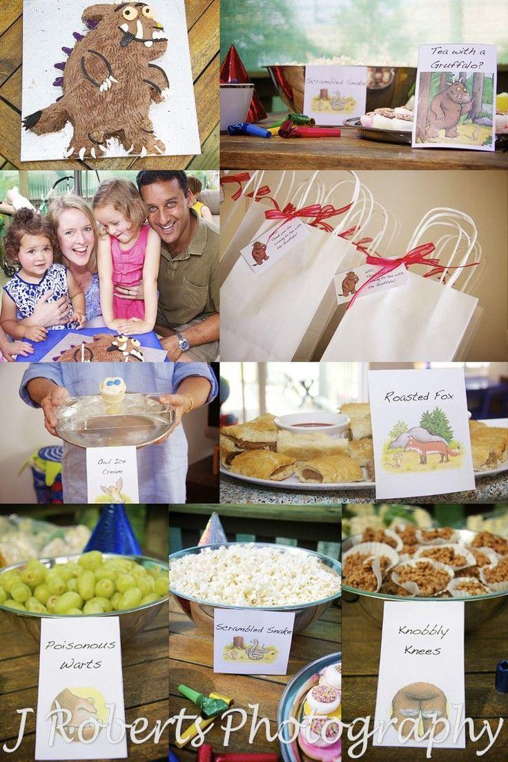 Gruffalo Themed Birthday Party - 2 Year Old Child's Birthday Party - Children's Party Photography Sydney