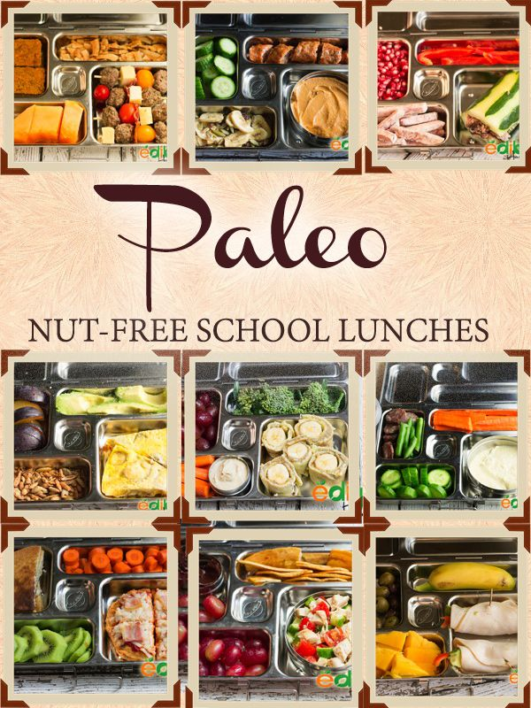 I decided to take daily pictures of Lilah's lunchbox and share them with you, to help give you some paleo nut-free school lunch ideas. More ideas coming soon