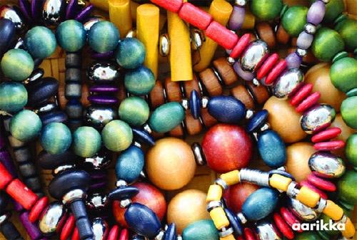 Aarikka beads