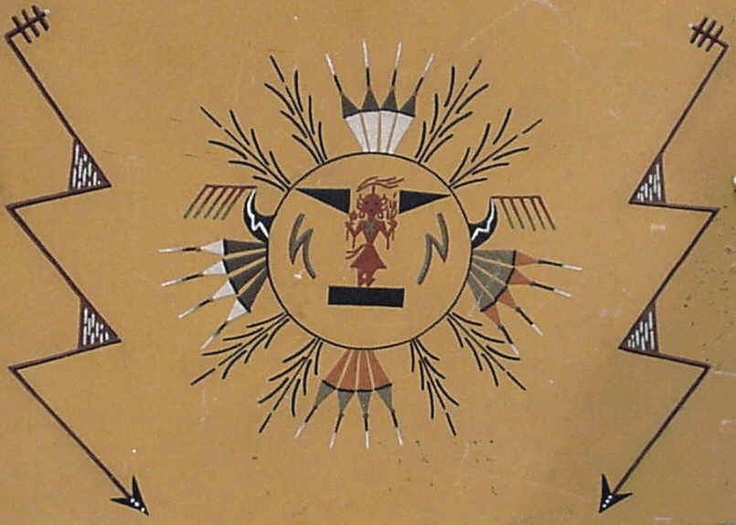 235 Best Native Sand Painting Images On Pinterest Sand Painting