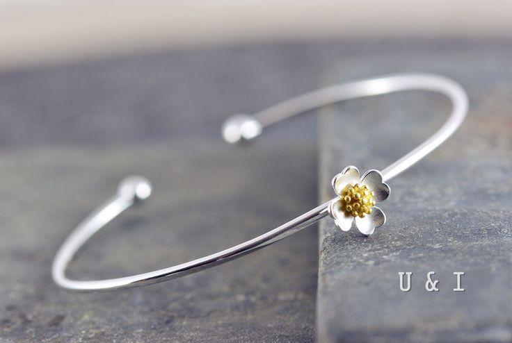 Armreif+Silber+925+von+U+&+I+auf+DaWanda.com