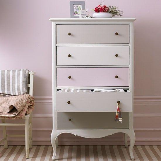 #Feminine girl's room with customised #furniture | Girls' bedrooms | Children's room | PHOTO GALLERY | Homes & Gardens | Housetohome.co.uk