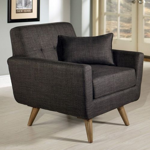 Abbyson Living Boise Tufted Fabric Armchair - Gray - Don't make too many plans…