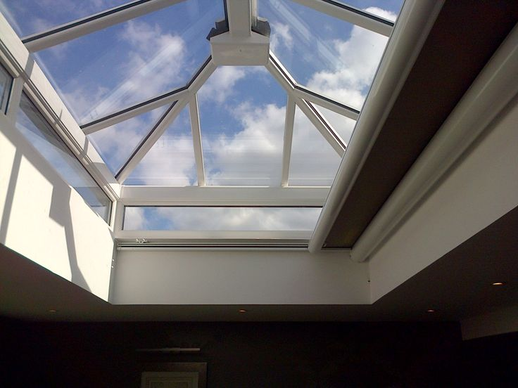 1000 images about electric blinds for roof lanterns for Motorized blinds for skylights