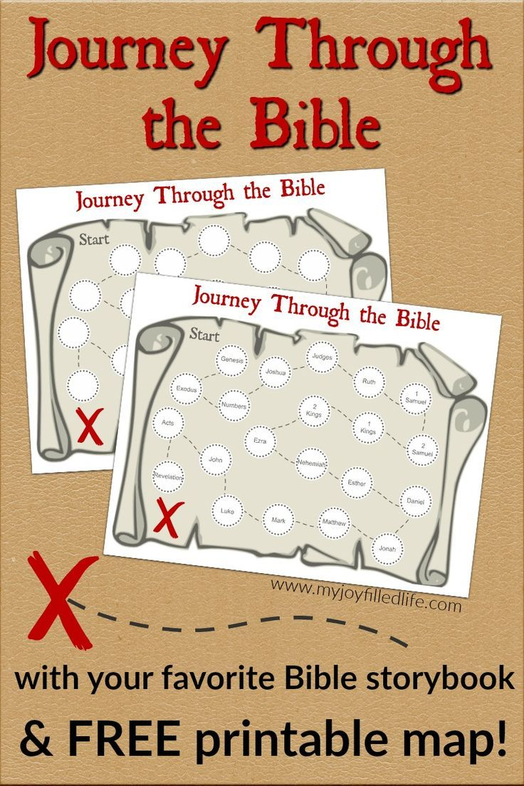 Journey Through the Bible with Your Kids w/ FREE Printable ...