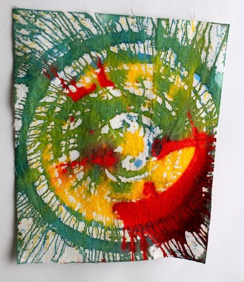 Spinner Fabric Art