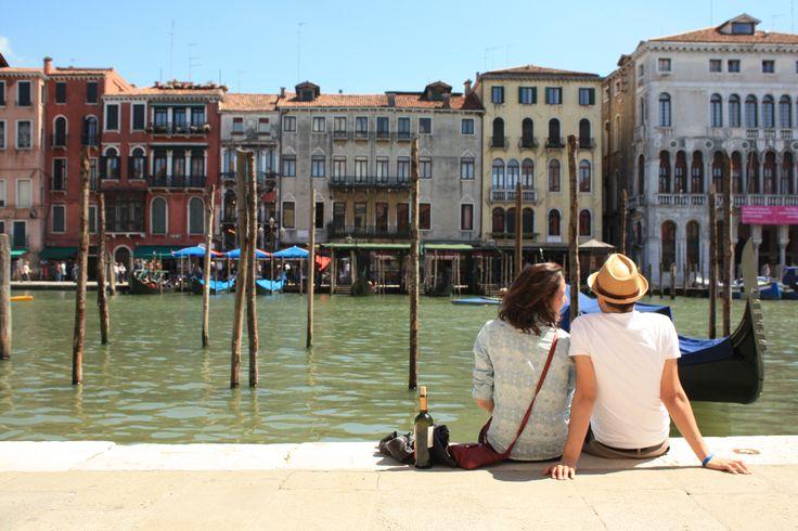 A romântica Veneza