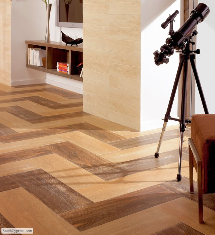 Wood porcelain tile in chevron pattern floors that wow pinterest patterns chevron Wood pattern tile