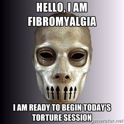 Hey, you! It's me, Fibro. Just here to suck out your soul! Kthxbai.