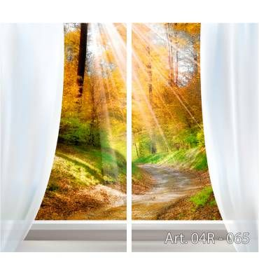 Ищете, какие приобрести шторы в современном стиле в зала или спальню? Посмотрите комплект штор «Вид из окна на аллею» с фотопечатью, по Вашим размерам, с креплением и тканью на выбор. Уточняйте по: +7 (904) 333 31 65
