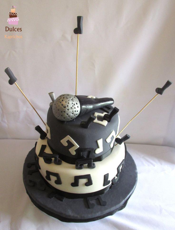 Torta Cantante #TortaCantante #TortasDecoradas #DulcesKaprichos