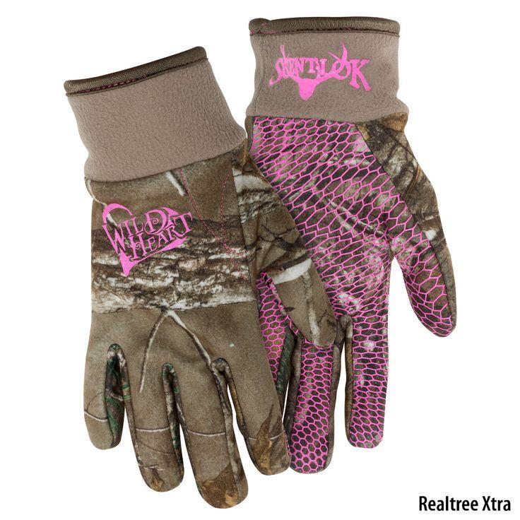 Scent-Lok Wild Heart Womens Full-Season Glove-760451 - Gander Mountain