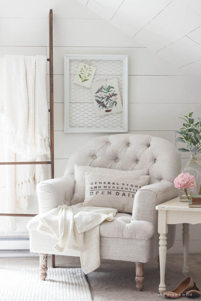 25+ best ideas about Bedroom chair on Pinterest   Master bedroom ...