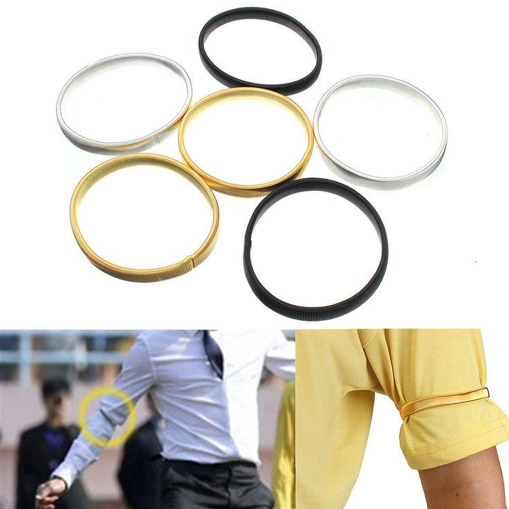 2pcs Arm Band Armband Elastic Bracelet Anti Slip Shirt Sleeve Holders  #women #men #fashion #jewelry #watches