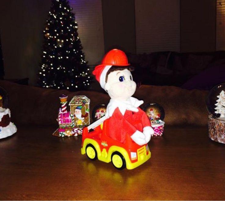 Firefighter Elf