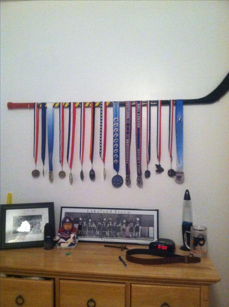 Cool old hockey stick idea