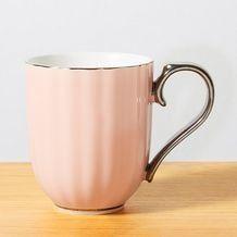 Celebrate Scalloped Mug - Pink