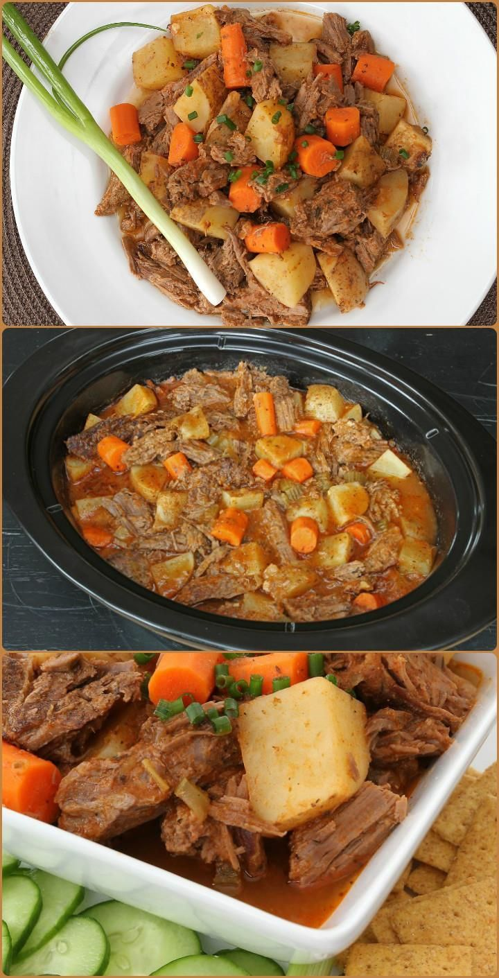 Mouth-Watering Slow Cooker Pot Roast: - 25 Recipes for Large Groups on a Budget