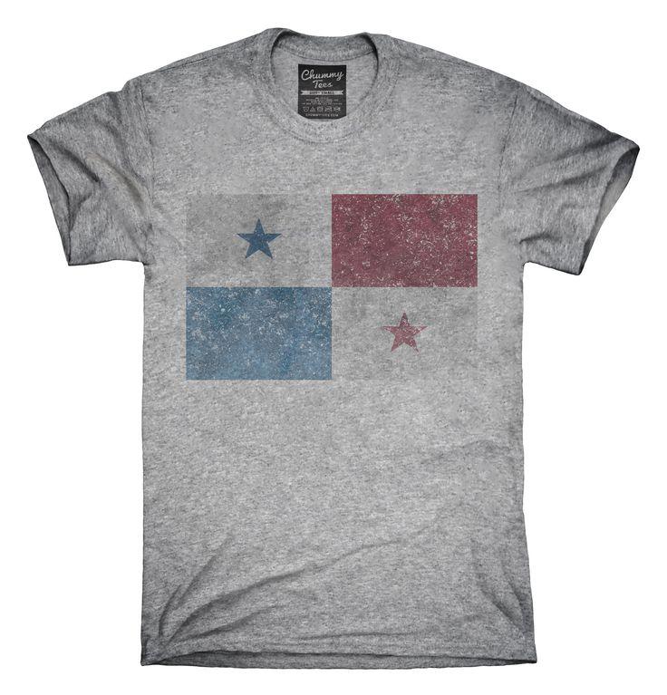 Retro Vintage Panama Flag T-Shirts, Hoodies, Tank Tops