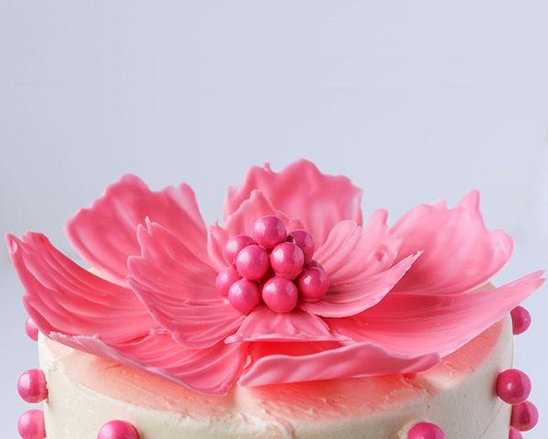 Πώς να φτιαξετε διακοσμητικά λουλούδια για τούρτες | Φτιάξτο μόνος σου - Κατασκευές DIY - Do it yourself