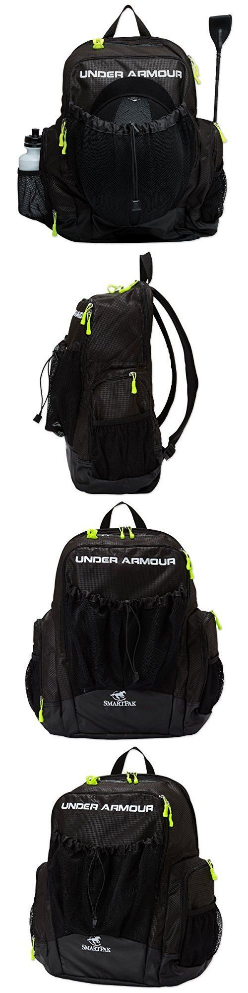 Equipment Bags 159153: Under Armour Striker Soccer Backpack Black Size One Size, New -> BUY IT NOW ONLY: $60.61 on eBay!