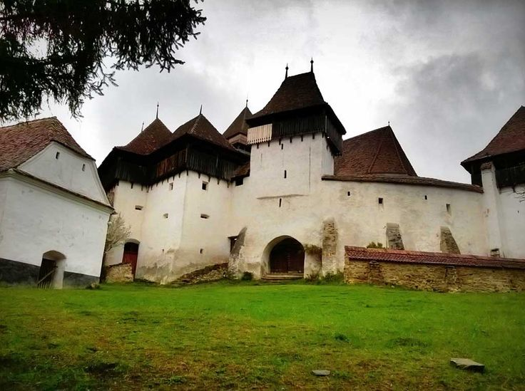 Viscri - one of the most famous fortified churches in Transylvania