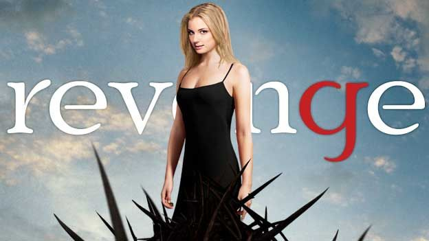 #REVENGE is one of my guilty pleasures. Basically, it's a soap opera - but it has more twists and turns than a French Braid. #catherineclinch