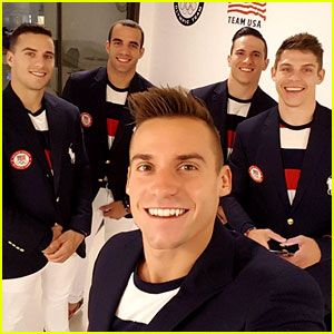 U.S. Men's Gymnastics Team 2016 - Meet the Olympic Hotties!