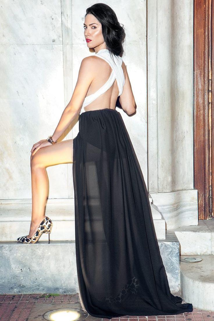 Dress by Vassilis Thom  Photographer: Konstantinos Pafilas  MUA / Hairstylist: Tommy Diamantopoulos Blogger / Model: Konstantina Tzagaraki from Serial Klother