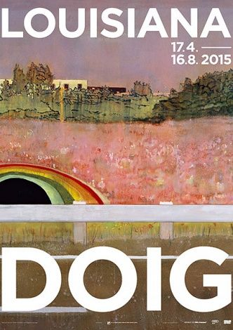 Poster from the exhibition PETER DOIG, 17.4.2015 - 23.8.2015, Louisiana Museum of Modern Art. Artwork: Peter Doig: Country Rock, 1998-99. Oil on canvas. Ole Faarup Collection. #peterdoig #painting #fluidworld #louisianamuseum #countryrock #louisianamuseumofmodernart #louisiana