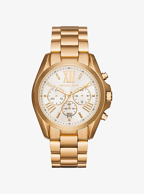 Oversize Bradshaw Gold-Tone Watch