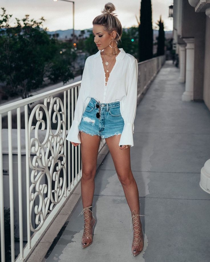 43 Cute Shorts Women to Wear Everyday this Spring and Summer