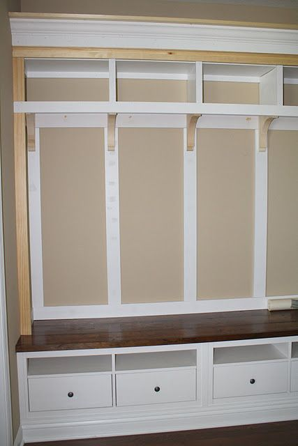 Mudroom Storage Ikea Hack Ikea Hack Pinterest Entry