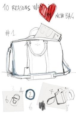 The Louis Vuitton SC Bag - created by Sofia Coppola & Marc Jacobs...